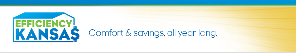 Efficiency Kansas: Comfort & savings, all year long.